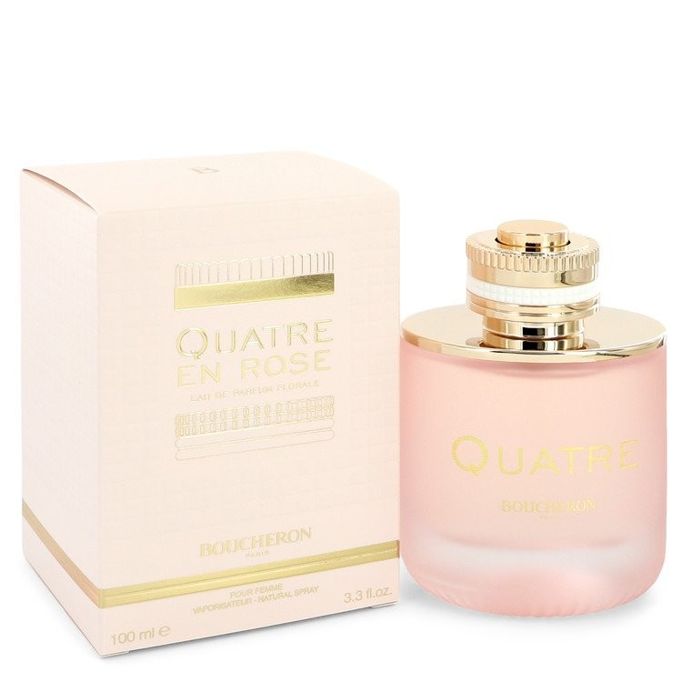 Quatre En Rose Florale By Boucheron