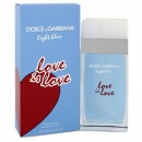 Light Blue Love is Love By Dolce & Gabbana